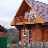 Дом в поселке Апраксино - Дом в поселке Апраксино - nashi-raboty