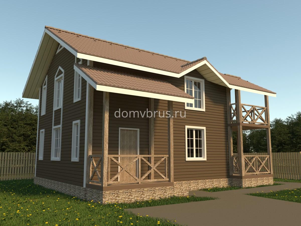 Каркасный дом K-31